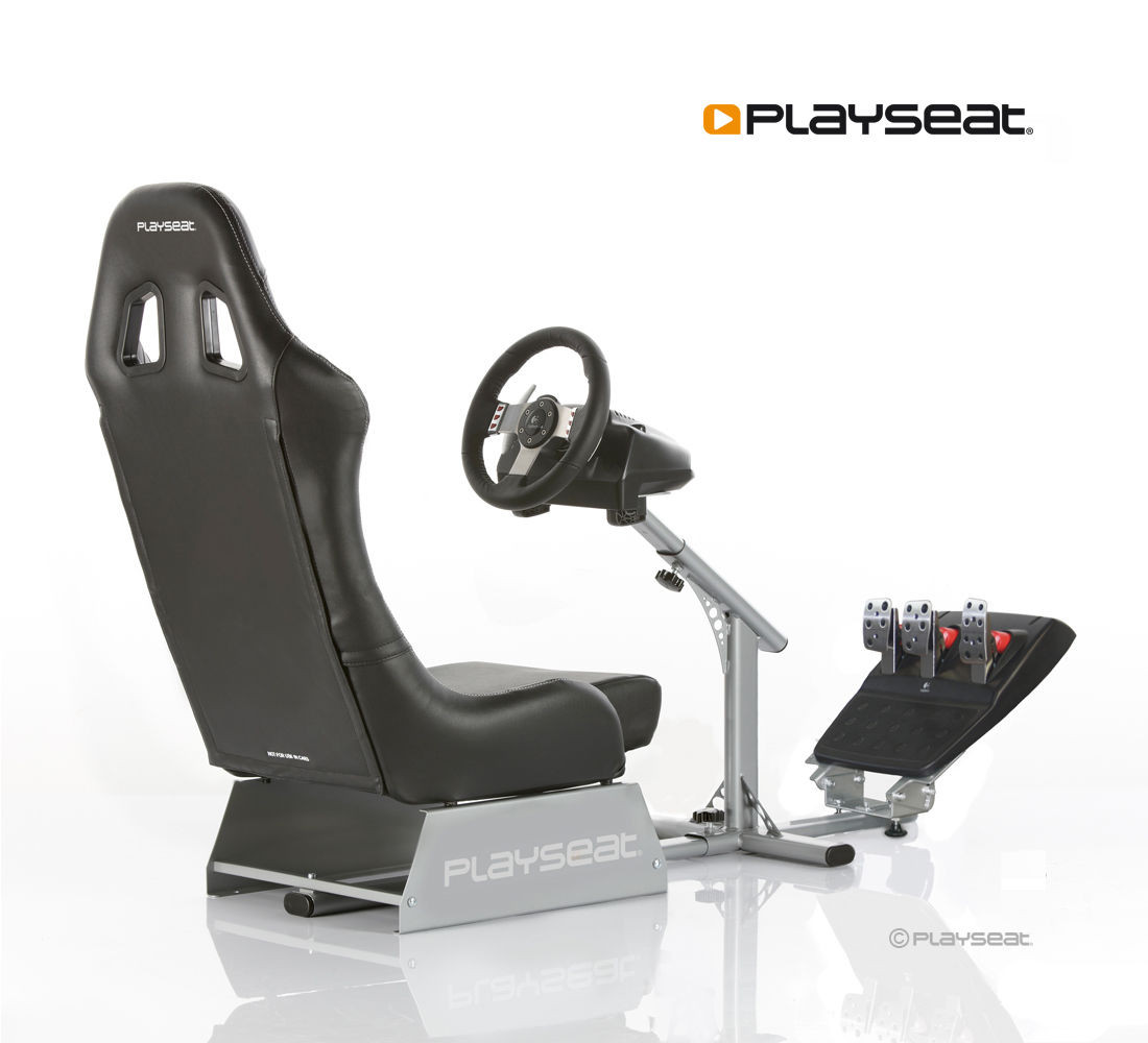 Playseat® Evolution Black Ready to Race paquete - PlayseatStore ...
