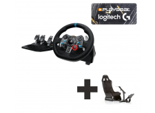 Logitech G29 for PS3 + PS4 + PC Ready to Race bundle