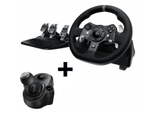 Logitech G920 + Shifter bundle for Xbox One + PC