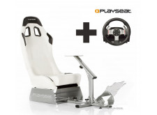 Playseat® Evolution White Ready to Race bundle