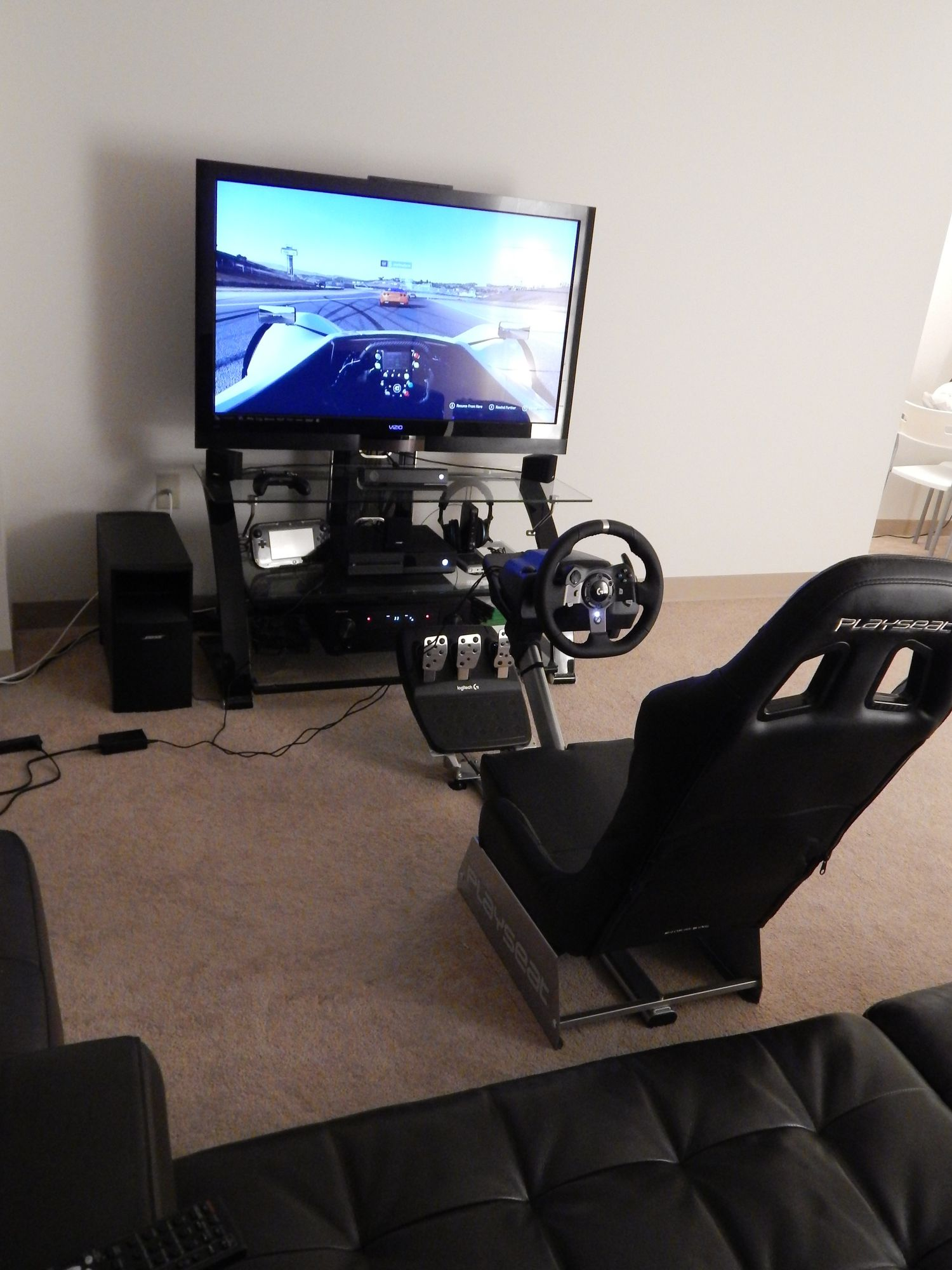 Excellent racing sim seat for the price.