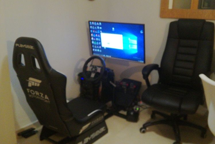 Asiento playseat forza motor sport