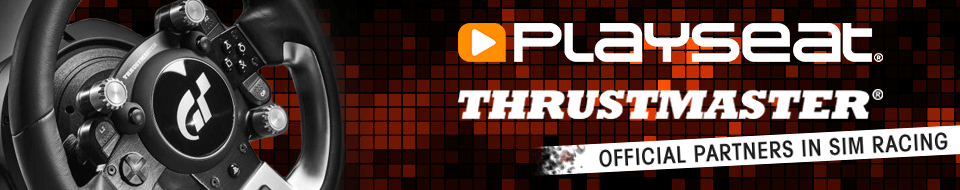 Playseat® & Thrustmaster official partners